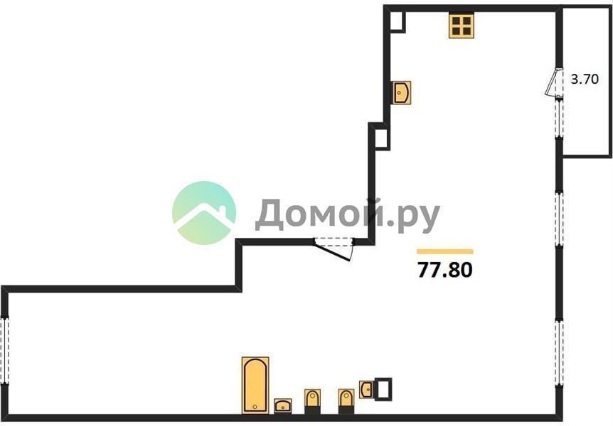 3-комнатная квартира в ЖК Изумрудные холмы